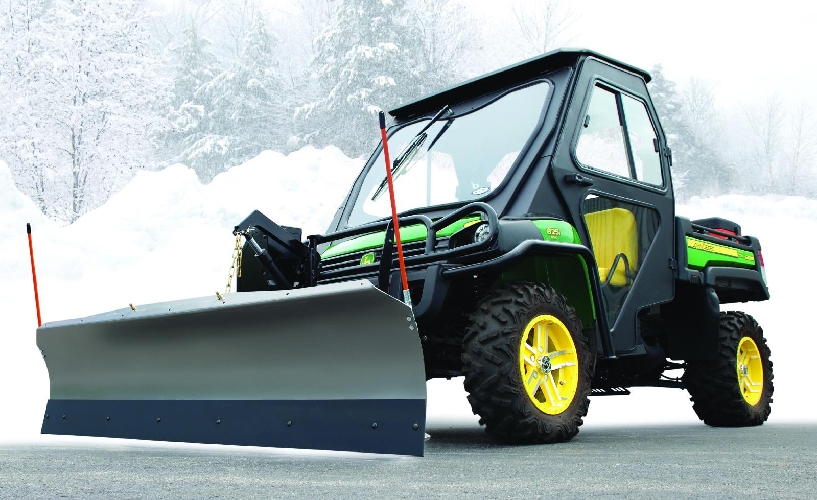 John Deere Snow Plow : Curtis inch snow plow blade for john deere xuv gators
