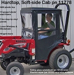 Hard Top Cab Enclosure For Mahindra 1816