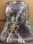 K and M Deluxe Gator Seat With Drain Hole In Mossy Oak Camo