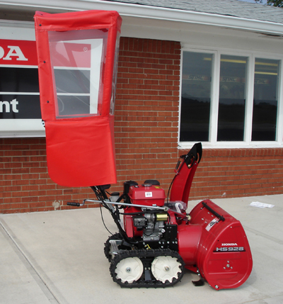 Honda Walk Behind 2 Stage Snow Blower Cab Kit