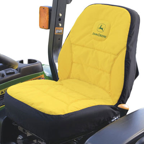 Comfort Covers For Tractors : John deere compact utility tractor large seat cover