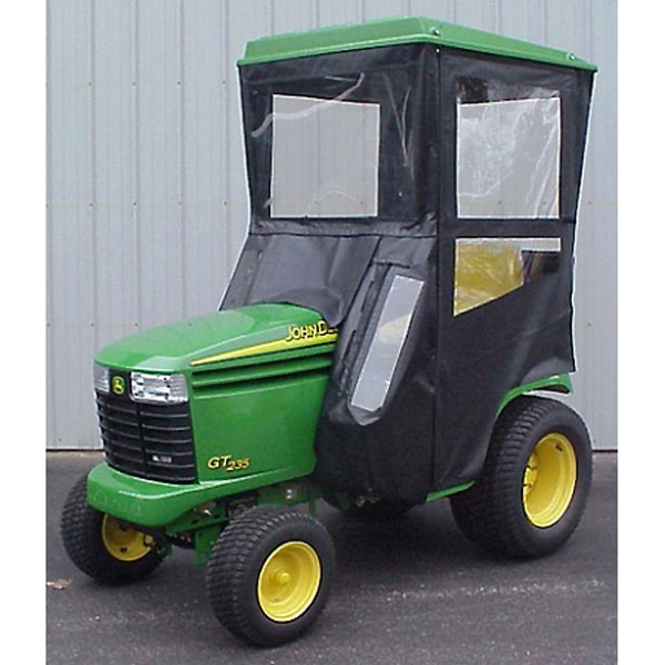 original tractor cab hard top cab enclosure fits john deere lx hard top cab enclosure fits john deere lx280 lx289 gt225 gt235 gt245 gx255