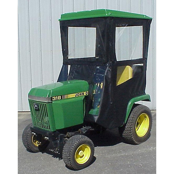 John Deere Lawn Tractor Enclosures : Original tractor cab hard top enclosure fits john