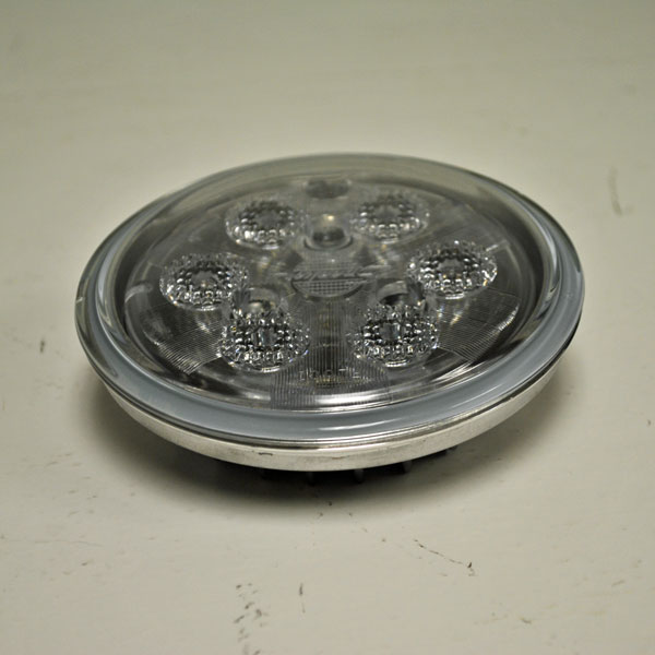 Led Headlights Sealed Beam Tractor : John deere par inch round led flood sealed beam