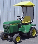 Sunshade Fits John Deere 300 and 400 Series Tractors