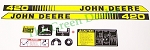 John Deere 420 Lawn and Garden Tractor Decal Set