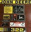 John Deere 322 Lawn and Garden Decal Set