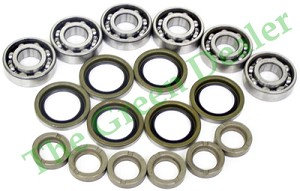 John Deere 48 inch and 54 inch Spindle Bearing Kit Fits Many Decks