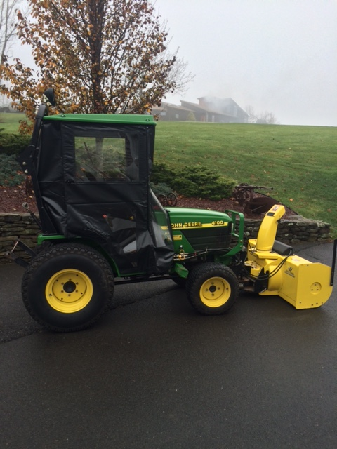 Original Tractor Cab Hard Top Enclosure For 4100 and 4110 Tractors