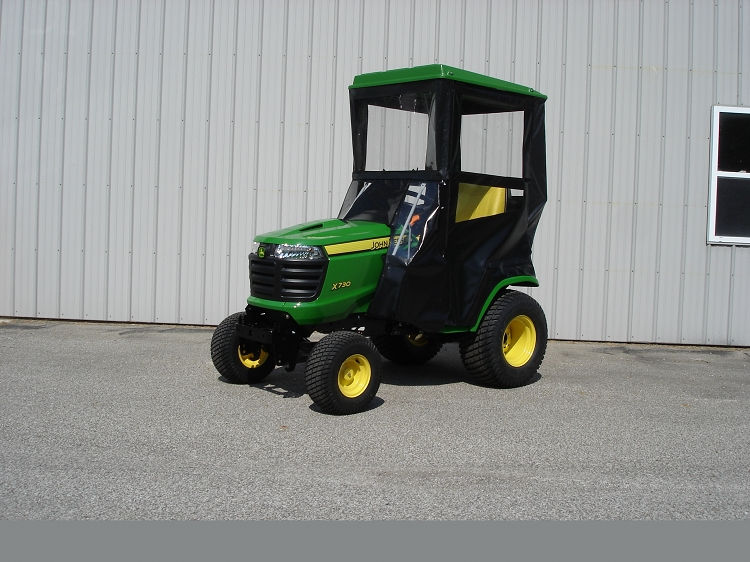 John Deere Lawn Tractor Enclosures : Hard top cab enclosure for signature series