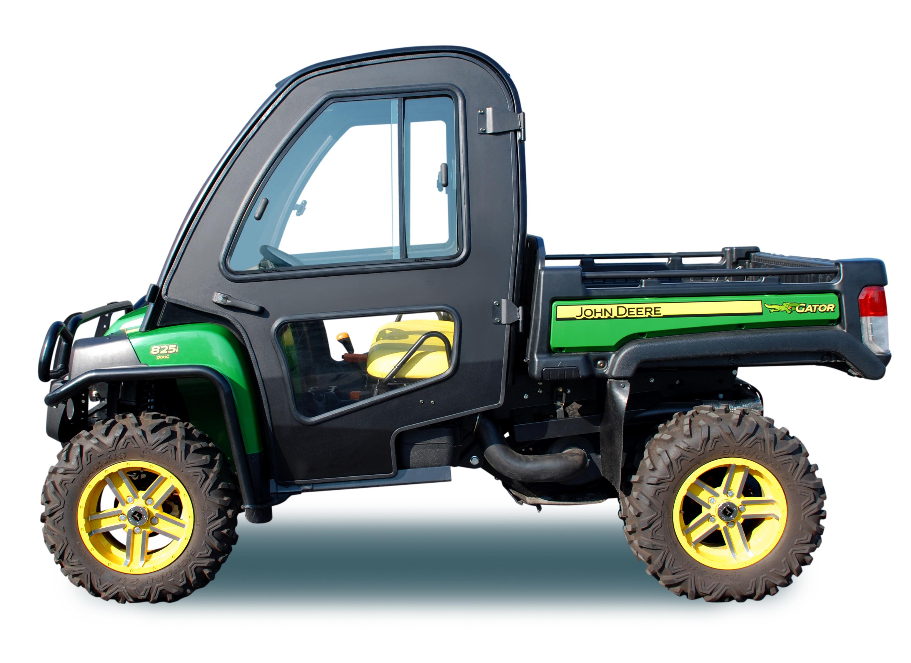 Write a Review  sc 1 st  ShopGreenDealer & Aluminum Replacement Doors For Deluxe Cab XUV Gators