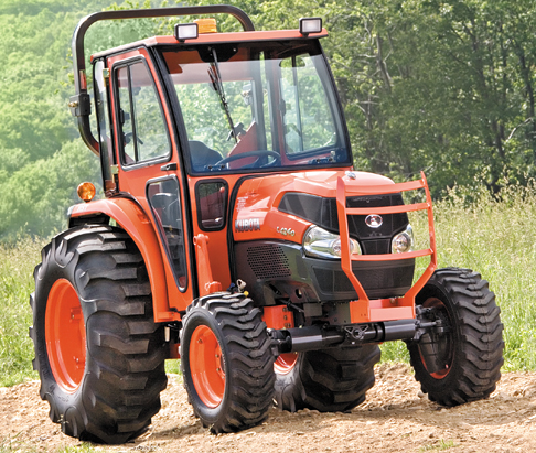 Curtis Hard Side Deluxe Cab for Kubota Grand L40 Series Tractors 1KGL4AS