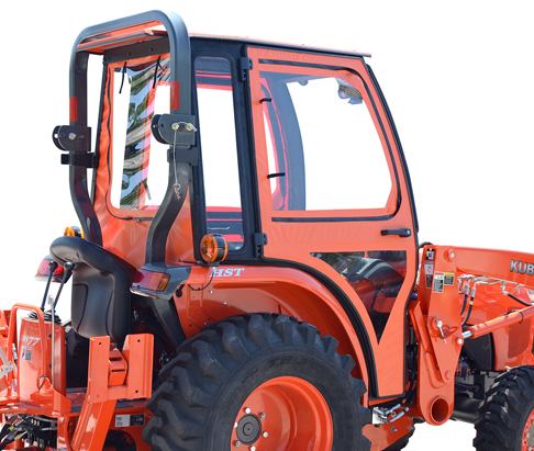 Curtis Soft Side Deluxe Cab For Kubota L3200 L3800 L2501