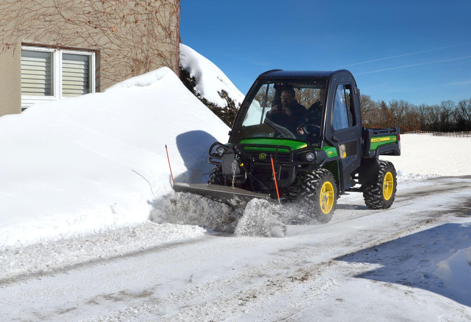 John Deere Gator Plow >> Curtis 72 Inch Snow Plow Blade For John Deere Xuv Gators