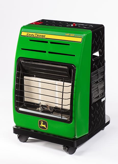Propane Radiant Heater >> John Deere HR-18R Propane Radiant Portable Heater HR-18R