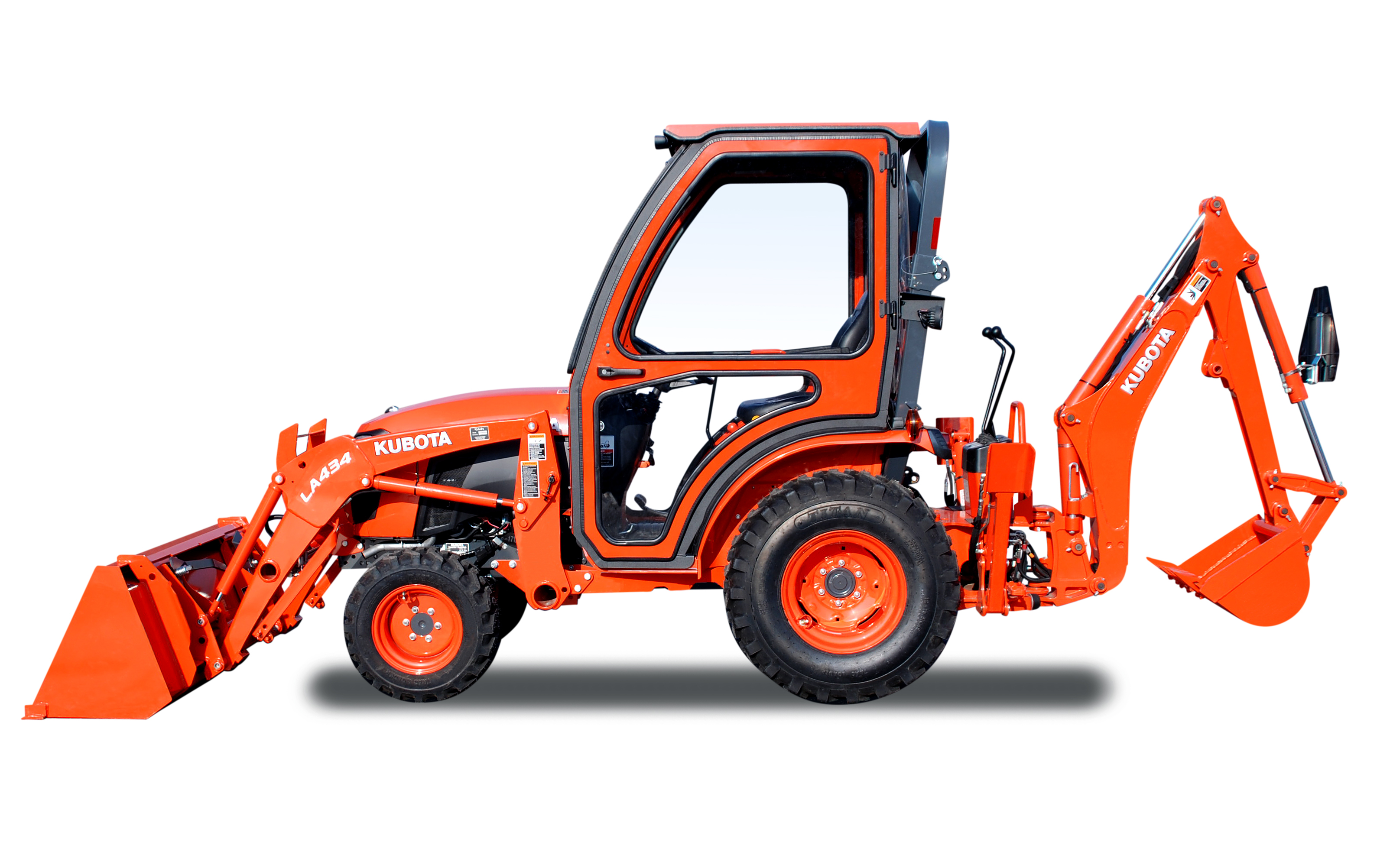 Curtis Standard Cab for Kubota B2301 and B2601 Tractors