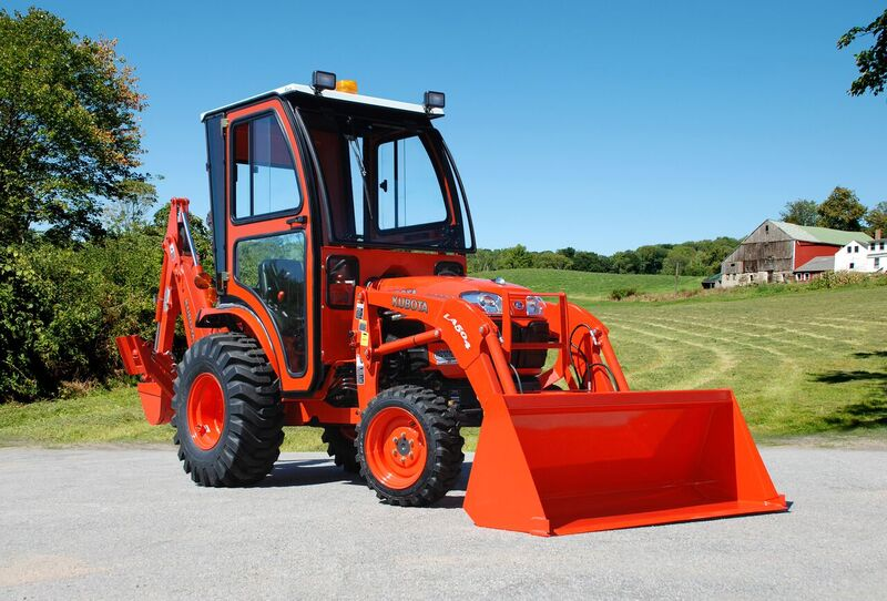 Curtis Soft Side Deluxe Cab For Kubota B3200 Series