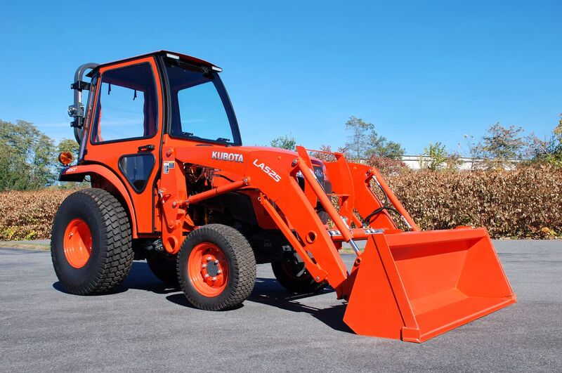 Curtis Standard Soft Side Cab For Kubota L3301 And L3901