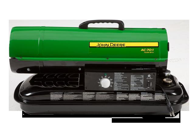 John Deere Ac 75 Portable Kerosene Fired 75 000 Btu Heater