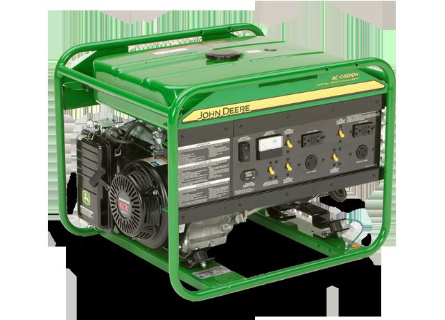 John Deere Ac G6010h Large Frame Generator Ac G6010h