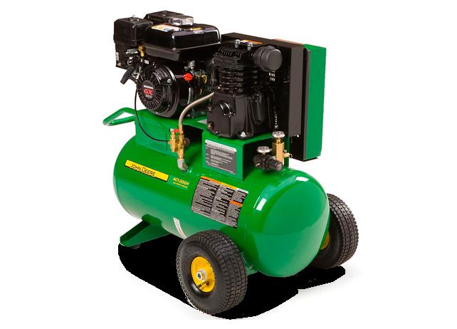 John Deere Air Compressors Shopgreendealer >> John Deere Ac1 20gh Portable Gasoline Air Compressor Ac1 20gh