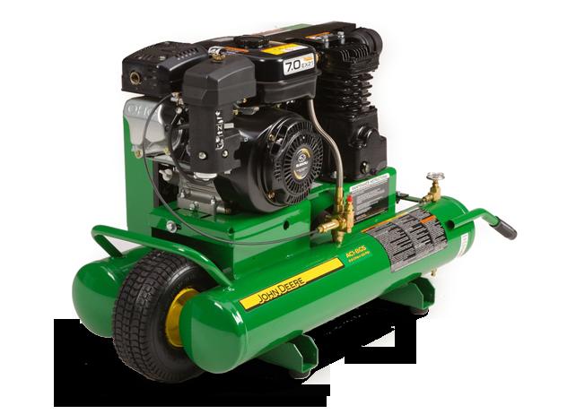 John Deere Air Compressors Shopgreendealer >> John Deere Ac1 20gs Portable Gasoline Air Compressor Ac1 20gs