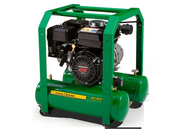 John Deere Air Compressors Shopgreendealer >> John Deere Ac1 5gh Hand Carry Gasoline Air Compressor Ac1 5gh