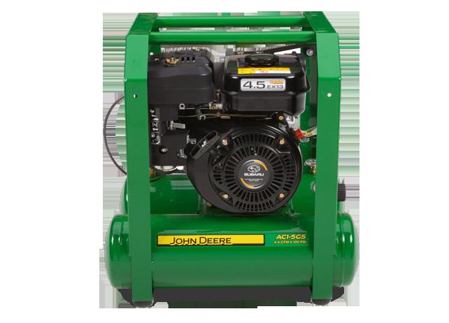 John Deere Air Compressors Shopgreendealer >> John Deere Ac1 5gs Hand Carry Gasoline Air Compressor Ac1 5gs