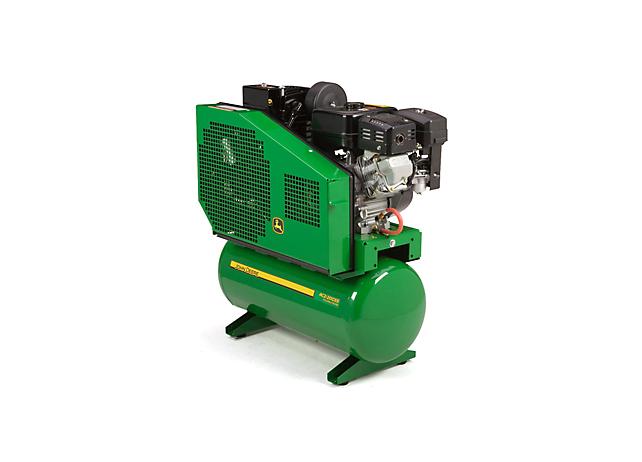 John Deere Air Compressors Shopgreendealer >> John Deere Ac2 20gss Stationary Gasoline Two Stage Air Compressor Ac2 20gss
