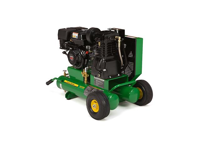 John Deere Air Compressors Shopgreendealer >> John Deere Ac2 8gh Portable Gasoline Two Stage Air Compressor Ac2 8gh