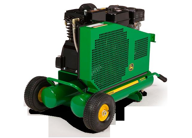 John Deere Air Compressors Shopgreendealer >> John Deere Ac2 8gs Portable Gasoline Two Stage Air Compressor Ac2 8gs