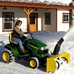 John Deere 44-in. Snow Blower for 100 Series Tractor