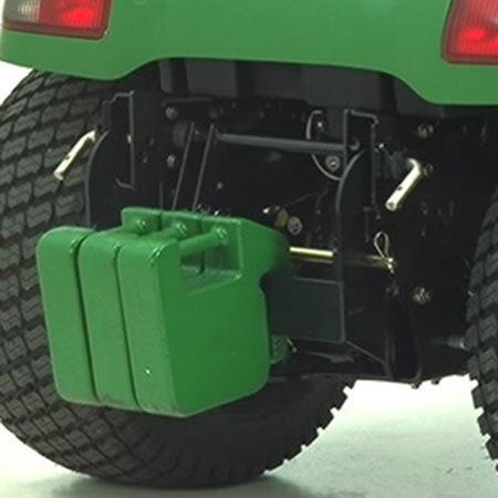 John Deere Rear Quik Tatch Weight Bracket Bm20779