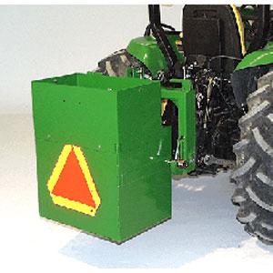 John Deere 9 Inch Ballast Box Extension Bw15074