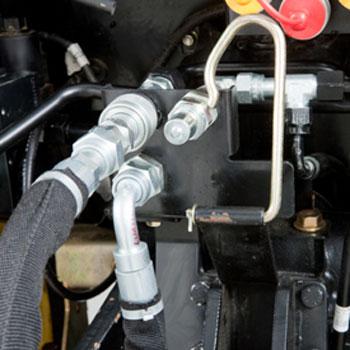 Lvb on John Deere Backhoe Hydraulics