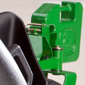 John Deere Ballast Bracket and Weight Kit for EZtrak Residential Mowers  BM24485