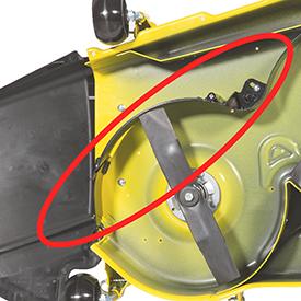 John Deere Mulch Control Kit For 48 Accel Mower Decks Bm24993