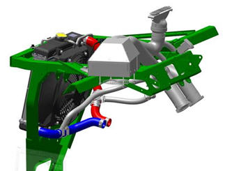 Cab Heater Kit For RSX Gators