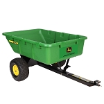 John Deere 10PX Poly Cart with Full Dump - LP72978