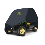 John Deere XUV and RSX OPS Black Vehicle Cover - 2 Passenger