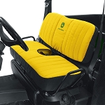 John Deere Mid Size Bench Seat Cover - Yellow