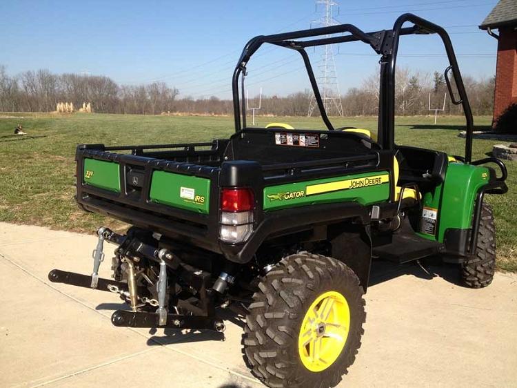 John Deere Gators >> Hydraulic Three Point Hitch For John Deere Gator 825i And 855d