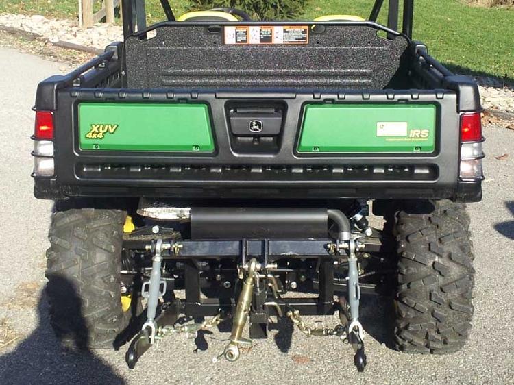 John Deere Gator Accessories >> Hydraulic Three Point Hitch For John Deere Gator 825i And 855d