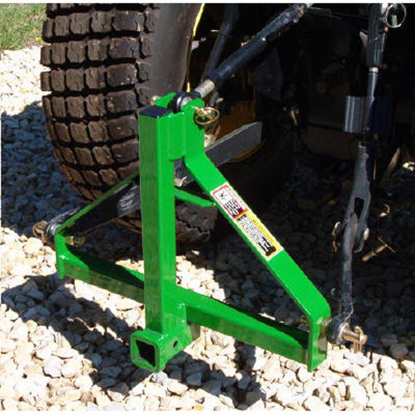 John Deere Gator >> Heavy Duty 3-Point Receiver Hitch - LP25001