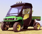 John Deere XUV Soft Door Rear Window Combo