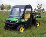 John Deere XUV Full Cab Fits Lexan Windshield