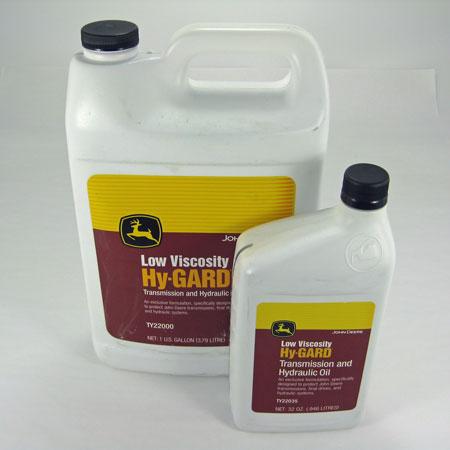 John Deere Low Viscosity Hy-Gard Oil TY22035