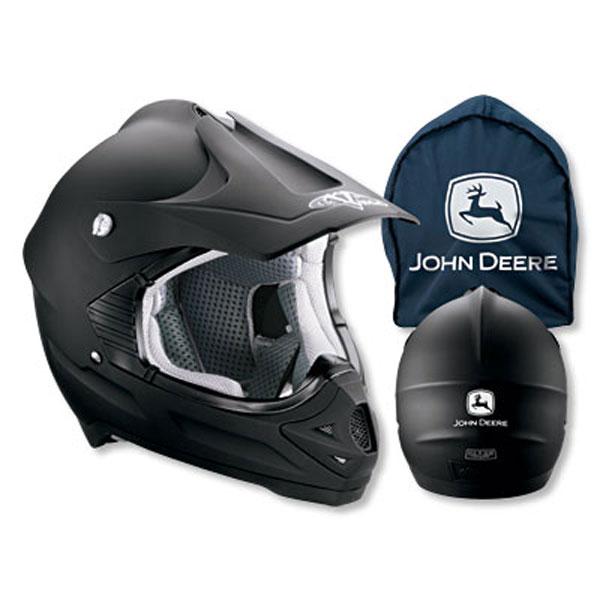 John Deere Vega Viper Black Helmet Jd05657