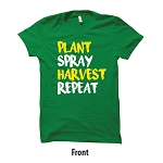 AHW Custom Plant Spray Harvest Repeat T-Shirt