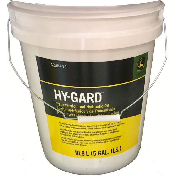 John Deere Hy-Gard Transmission and Hydraulic Oil 5 Gallon Bucket AR69444